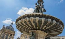 Fontaines des Trois Graces, Bordeaux, France