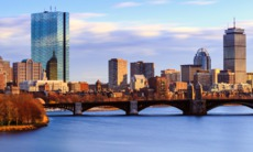 Back Bay skyline, Boston