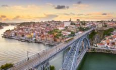 Bridge over the river Douro, Porto