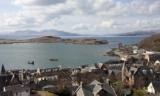 View across the bay at Oban, Scotland