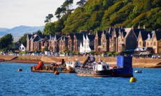 Oban bay, Scotland