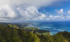 Coast of Oahu, Hawaii