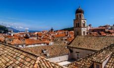 Dubrovnik rooftops, Croatia