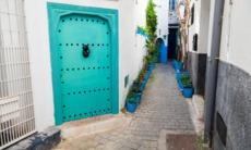 Street in the medina, Tangier