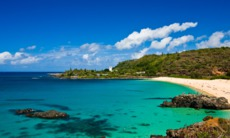 Beach on Oahu, Hawaii
