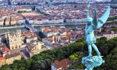 View of Lyon from Notre Dame de Fourvière