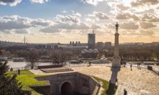 Statue of Vicory, Kalemegdan fortress, Belgrade