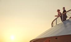 Seabourn Cruises - Couple on the veranda on an all inclusive cruise