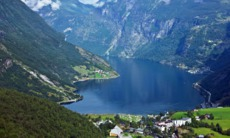 View of Geirangerfjord, Norway