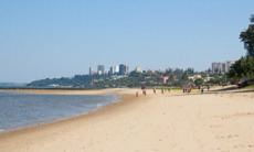 Maputo beach, Mozambique