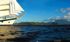 Star Clippers cruises - Royal Clipper at sea