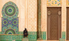 Exterior of Hassan II Mosque, Casablanca