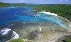 Catamaran in Antigua