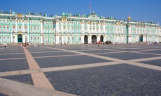 The Winter Palace in St Petersburg, the highlight of a Baltic Cruise