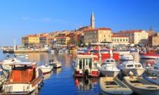 Rovinj harbour, Croatia