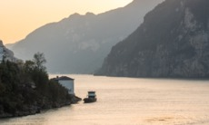 Yangtze river at Yichang, China