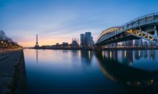 Seine river cruises - Eiffel Tower, Paris