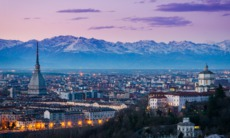 Po river cruise - Turin by night