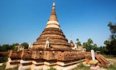 Pagoda in Inwa, Myanmar