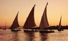 Nile river cruises - Feluccas