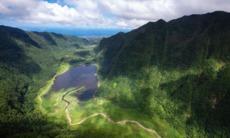 Lake on Réunion Island