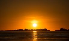 Sunset over the Buccaneer Archipelago, Australia
