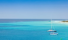 Boats in the Turks and Caicos