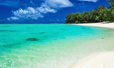 Beach in Rarotonga, Cook Islands