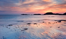 Sunset over Iona, Scotland