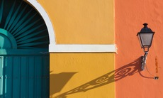Doorway in old San Juan, Puerto Rico