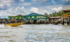 Water village in Bandar Seri Begawan, Brunei