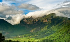 Mountains in La Palma, Canary Islands