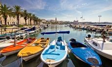 Split harbour, Croatia