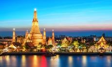 Wat Arun temple at night, Bangkok