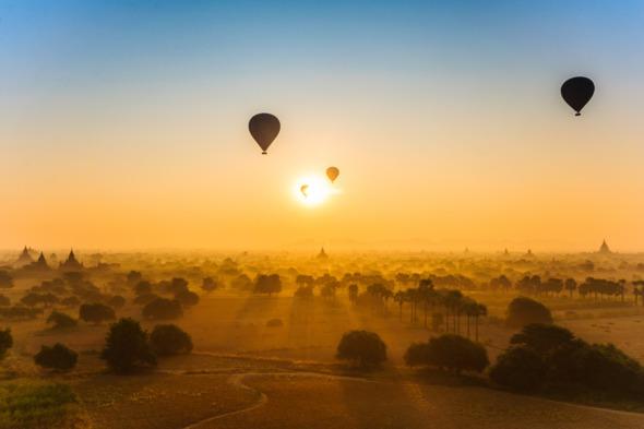 Balloons over Bagan, Burma