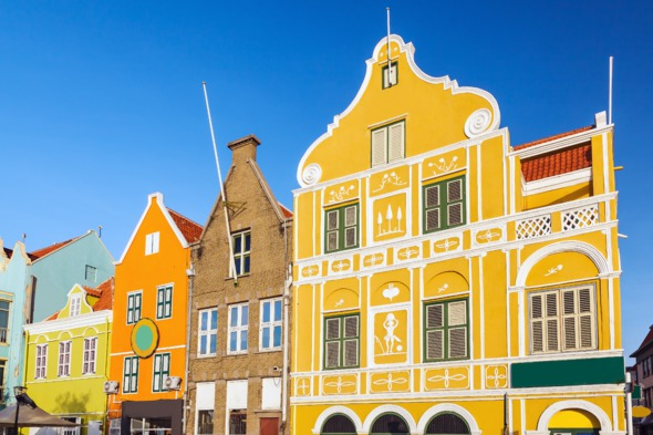 Dutch colonial architecture in Willemstad, Curaçao