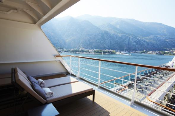 Seabourn Cruises - View from verandah