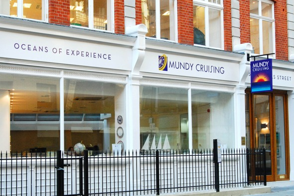 Mundy Cruising HQ - Home of the UK's original luxury cruise travel agency
