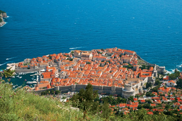Dubrovnik old town, Croatia, the highlight of any Adriatic cruise