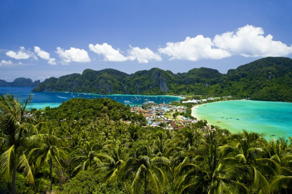 Phi Phi Island, Thailand - A great winter cruise destination