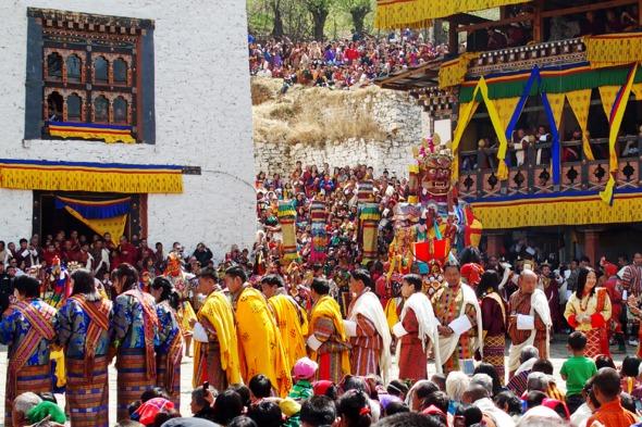 Paro Festival, Bhutan