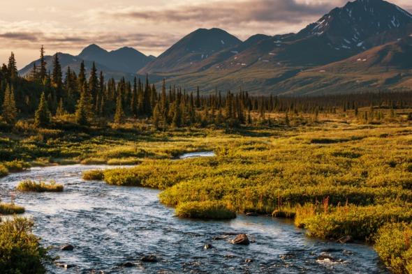 Serenity Lake, Alaska