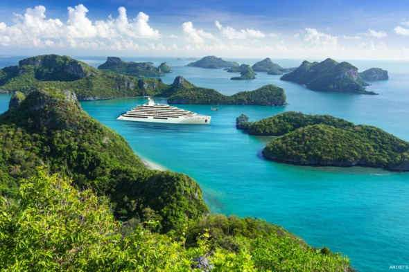 Crystal Endeavor luxury expedition yacht