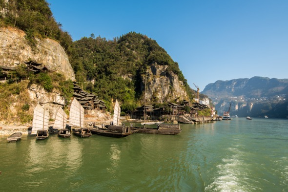 Xiling Gorge near Yichang, China
