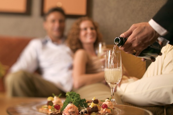 Celebrating a special occasion on a luxury cruise