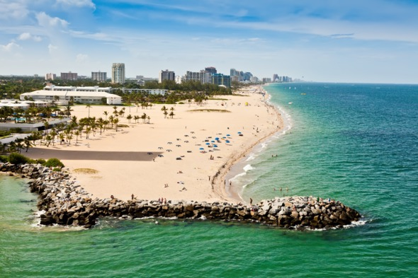 For Lauderdale beach