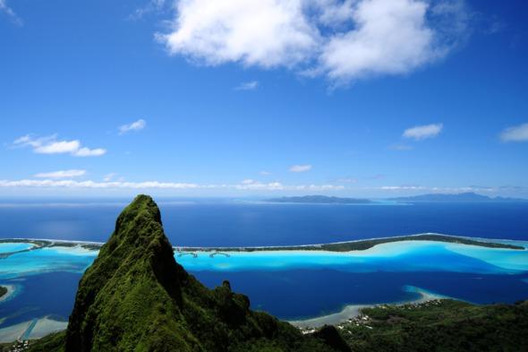 South Pacific cruises - Bora Bora