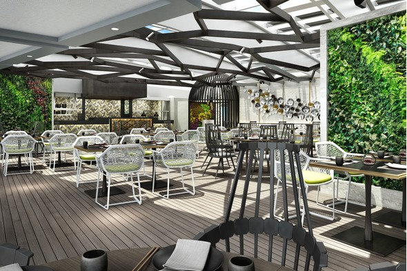 Crystal Serenity & Symphony refurbishment - Silk restaurant