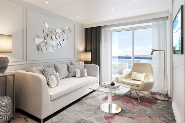 Crystal Serenity & Symphony refurbishment - Seabreeze Penthouse Suite