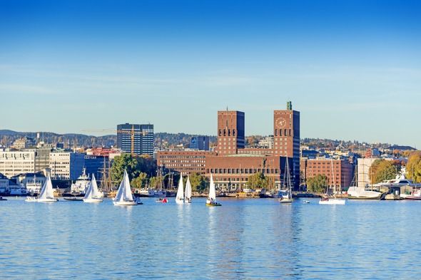 Oslo harbour, Norway